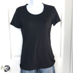 32 Degrees S/S Scoop Neck Black Tee Base Layer S